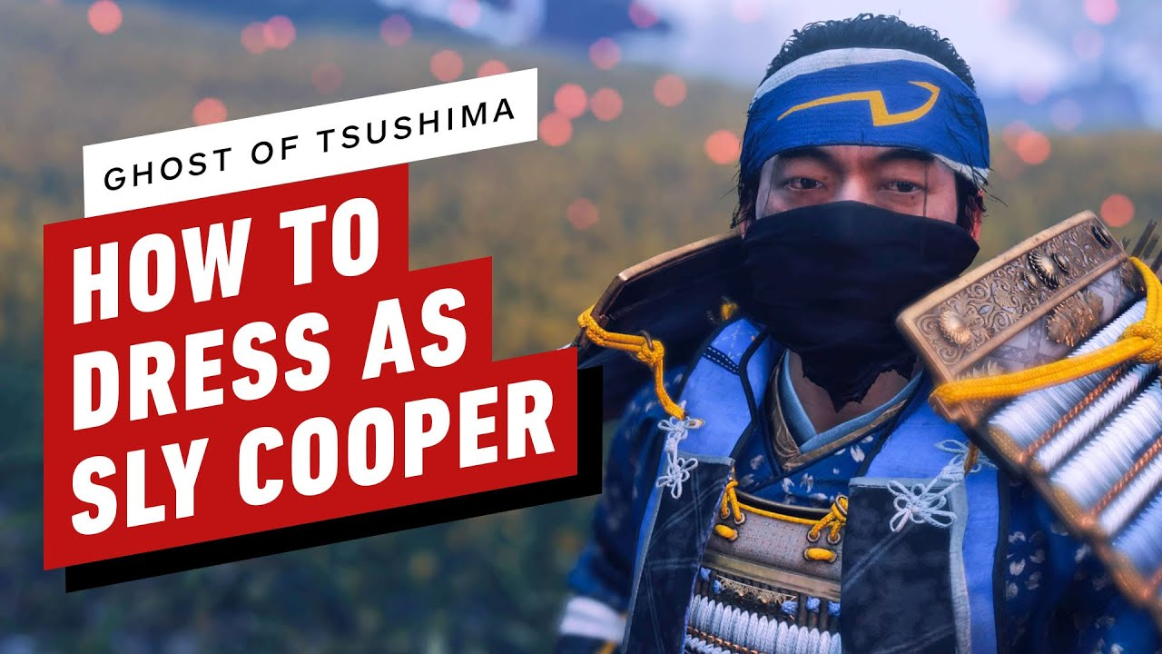 Ghost of Tsushima: How To Dress as Sly Cooper
