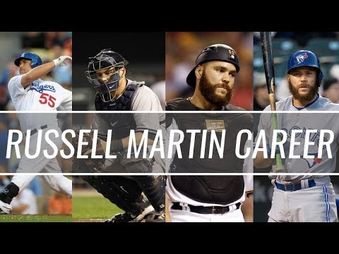 Russell Martin - Dodgers/Yankees/Pirates/Blue Jays - Career Highlight Mix