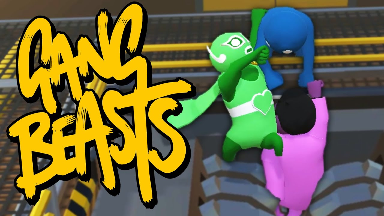 Human Fall Flat Wallpaper I Whip My Cape Back And Forth Gang Beasts Online Youtube