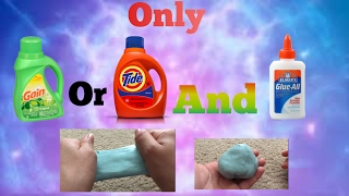How to make slime using tide or gain antidiary how to make slime with only glue and gain or tide ccuart Images