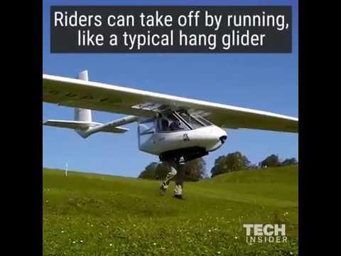 This 80 Mph Aircraft Is Actually A Hang Glider.Это 80 Миль/ч Самолёт Фактически Дельтаплан.