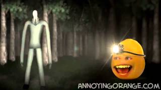 [Annoying Orange] Апельсин и Slender (Rus by Rissy)