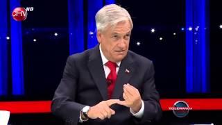 Presidente Sebastián Piñera en Tolerancia Cero Tercer Bloque