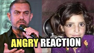 Aamir khan ANGRY Reaction On 8 Year Old Asifa C...