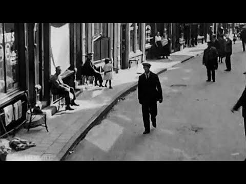 1922: De Zeedijk en de Jordaan te Amsterdam - oude filmbeelden