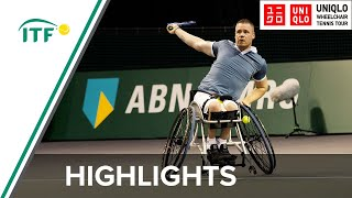 ABN AMRO Wheelchair Tennis Day 1 highlights: Scheffers (NED) v Vandorpe (BEL)
