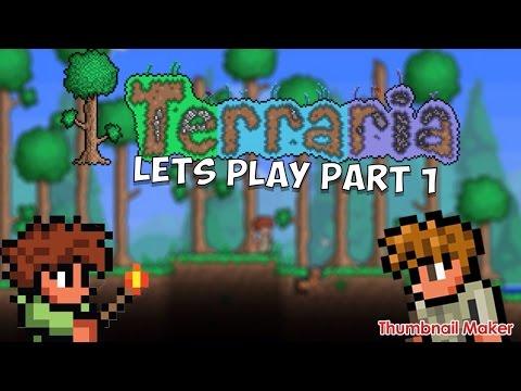 Terraria playthrough part 1 (sky tower)