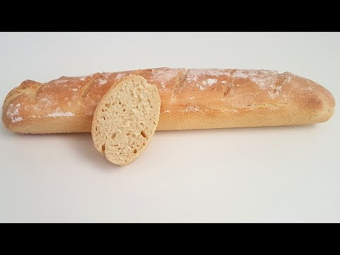 Schnelles Baguette / aussen knusprig innen fluffig / perfekte Grillbeilage