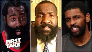 The Nets should trade Kyrie Irving to the Rockets for Harden TODAY! - Kendrick Perkins