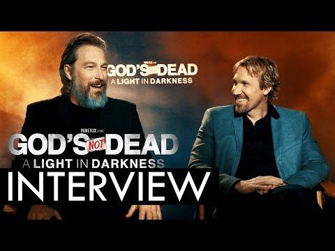 God's Not Dead A Light in Darkness Interview: John Corbett & David A.R. White