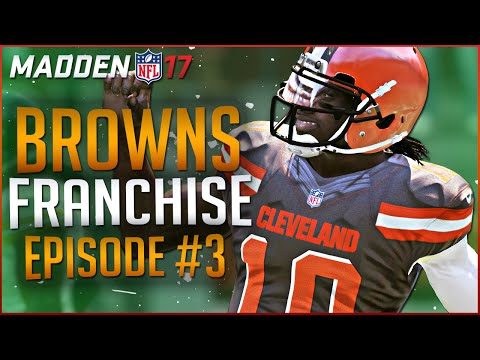 MADDEN 17 FRANCHISE MODE GAMEPLAY: BROWNS PUSH FOR PLAYOFFS! | EP 3