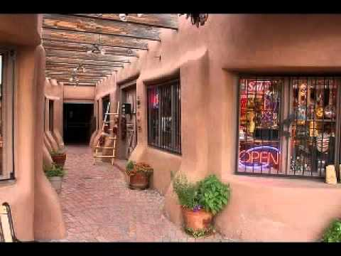 Santa fe style homes pictorial youtube for Santa fe style homes