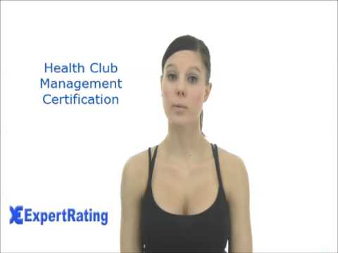 Health Club Management Certification