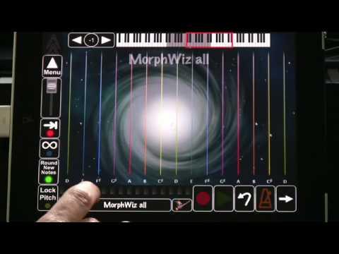 MorphWiz Video Manual 1 - The Main Screen