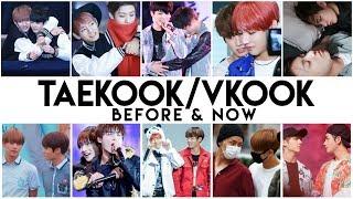 Taekook Before & Now [VKookKookV]