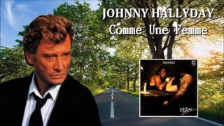 johnny Hallyday      comme une femme