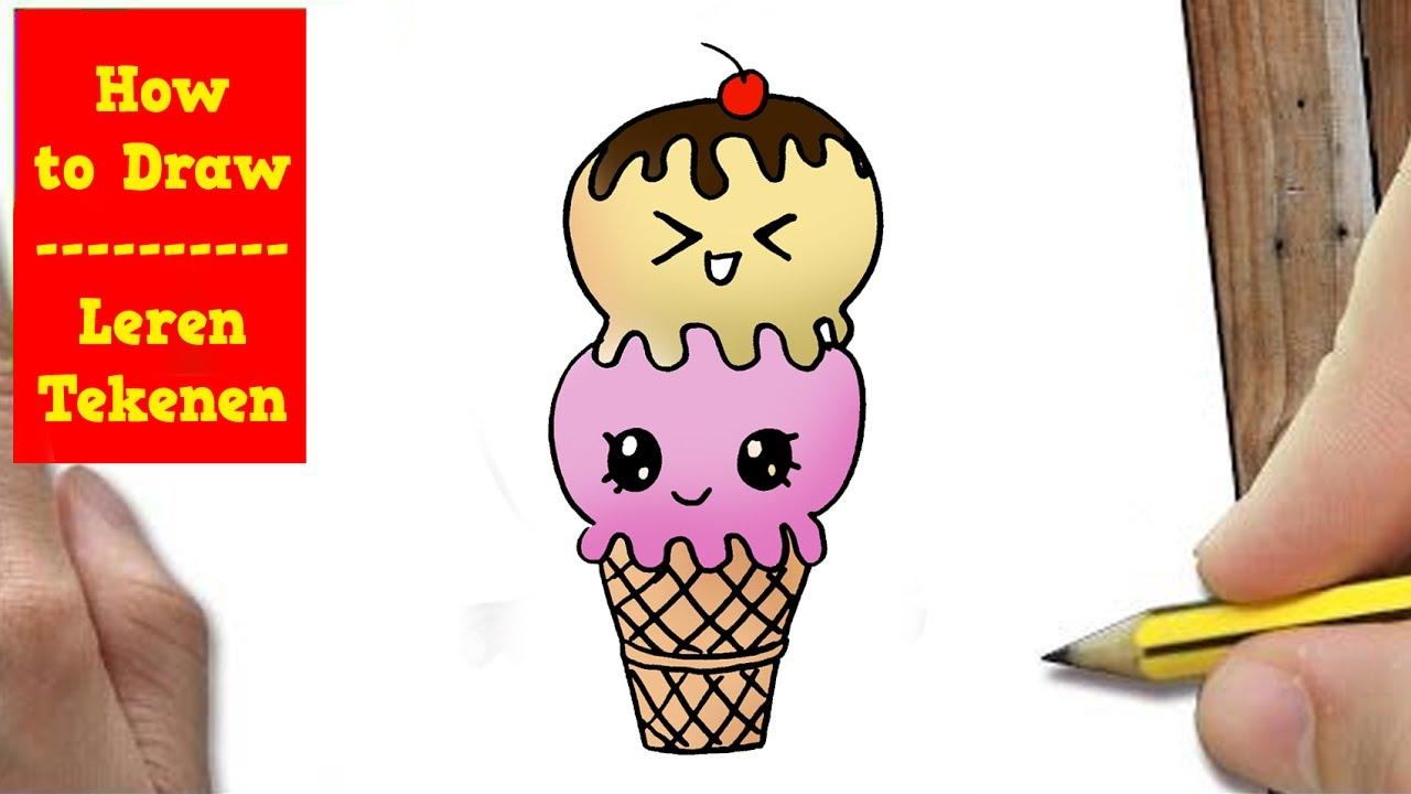 Citaten Met Uitleg : Hoe teken je een ijsje met uitleg youtube