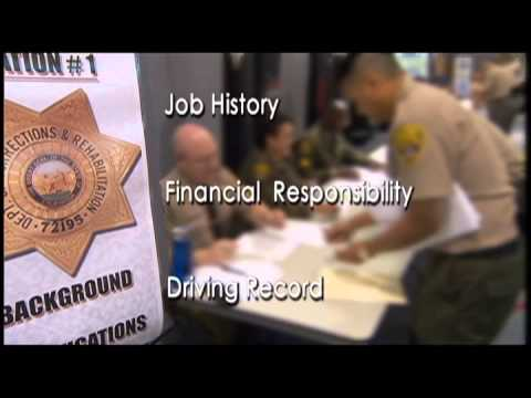 California Department Of Corrections And Rehabilitation Academy Recruitment