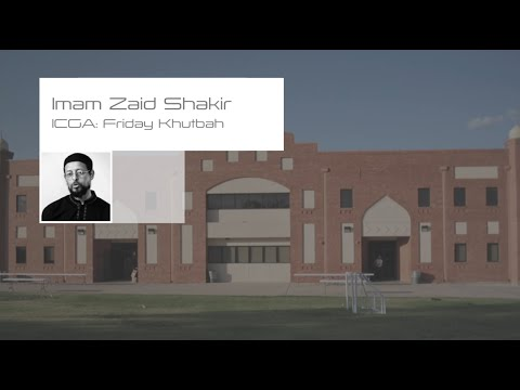 The Future Belongs to a Positive Muslim - Imam Zaid Shakir (
