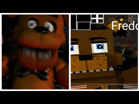 All Ucn-r Fnaf 1 Jumpscares Compared With UCN