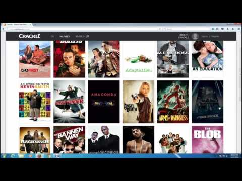 Watch Free T.V.  Shows and Movies on the Internet with Crackle