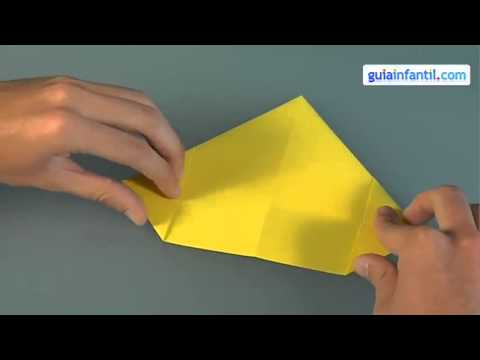 Cách gấp thuyền giấy cho bé