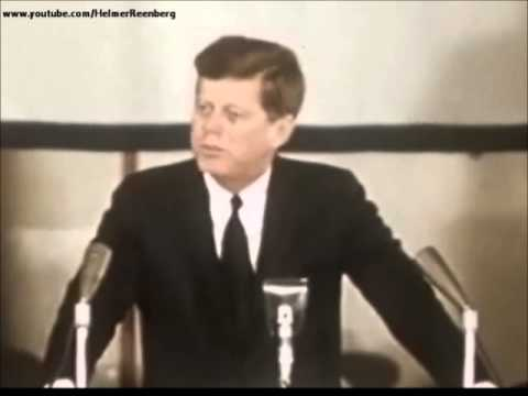 April 14, 1962 - President John F. Kennedy's Remarks Aboard the U. S. S. Enterprise - YouTube