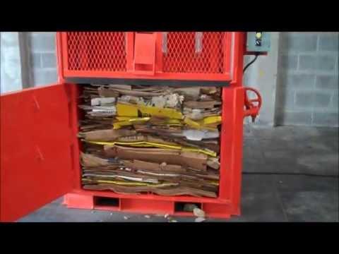 Prensa Compactadora - Cartón, Papel, Textiles, Pet -Modelo K2D