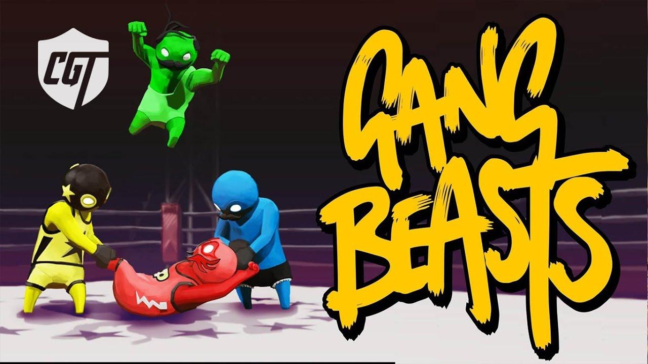 GANG BEASTS GAMEPLAY!