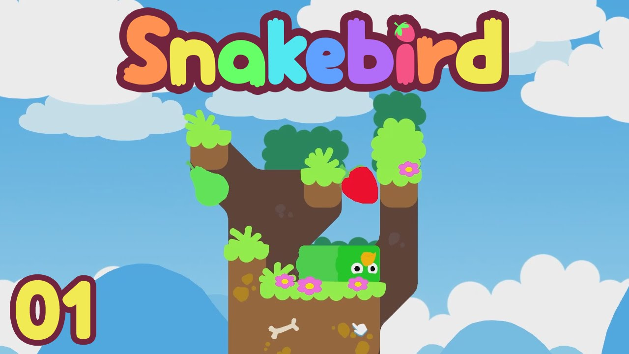 Snakebird Playthrough