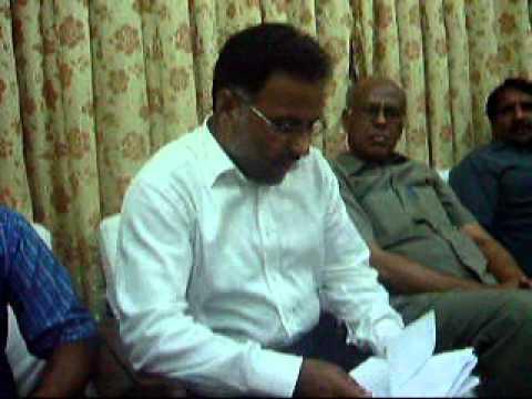 Ali Komail Qazal Bash., Mahman-e-Aizaz, Mushaira Sukhanwar Pakistan, July 4, 2012