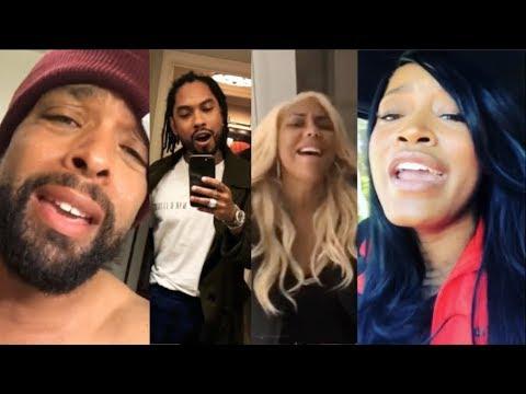 Celebrities do the #OldSchoolChallenge Miguel, Keke Palmer, Tamar Braxton, DeRay Davis,