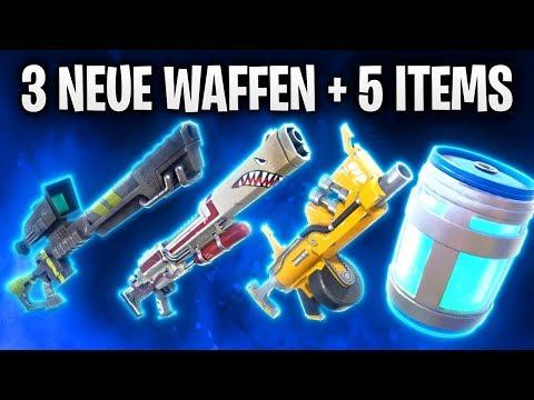 3 NEUE WAFFEN 🔫 & 5 NEUE ITEMS LEAKED! 🔥 | Fortnite: Battle Royale