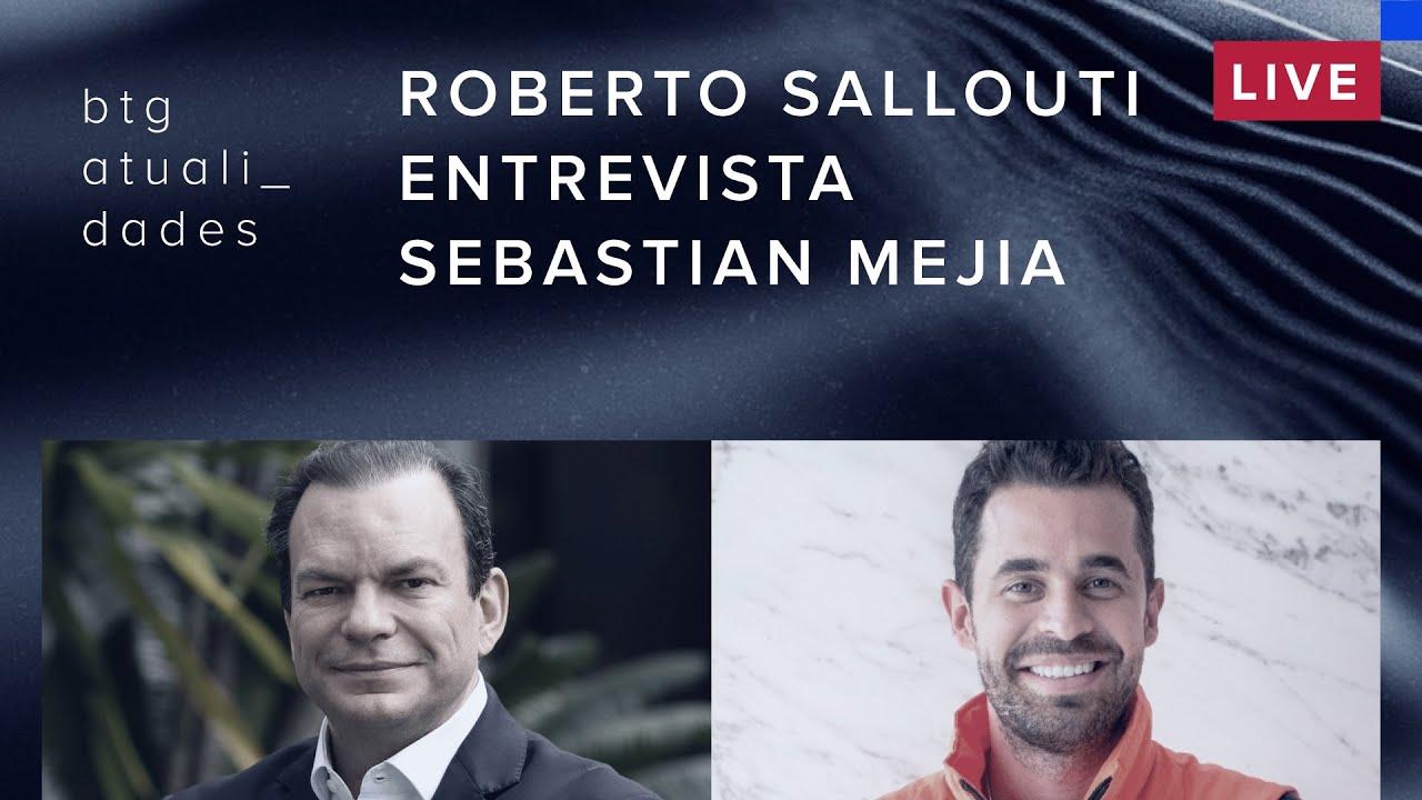 Roberto Sallouti entrevista Sebastian Mejia, cofundador e presidente da Rappi