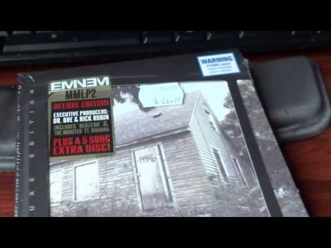 UNBOXING Eminem the MMLP2 Deluxe Edition (The Marshall Mathers LP 2)