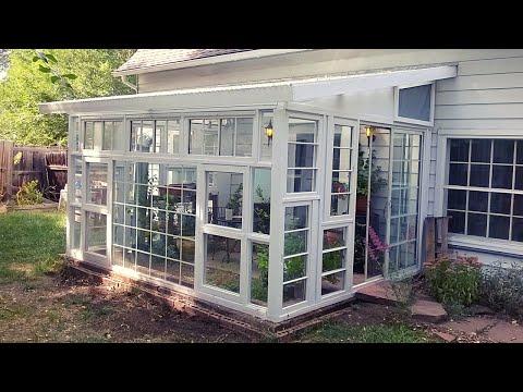 TCG | Recycled Window Greenhouse