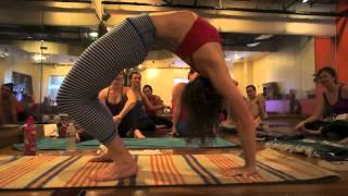 Yoga Tips with Christina Sell - the back bend rocking horse
