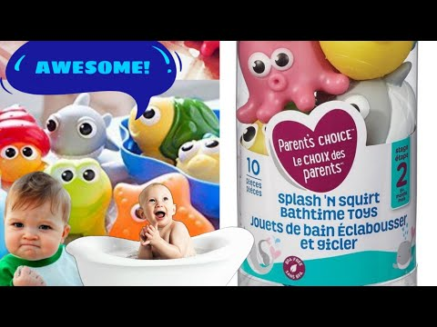 Parent's Choice Splash'n Squirt Bath Toys