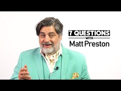 7 Questions with Matt Preston