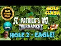 Golf Clash: Pro. Hole 2 Eagle : Adjustments/Корректировка. St Patricks Tournament!