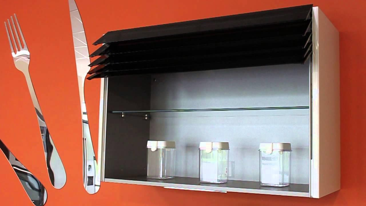 ouverture meuble cuisine store venitien