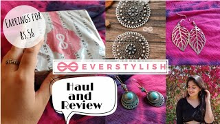 Boho Earrings for ₹ 56/- || Everstylish.com Review and Hual || First Impression