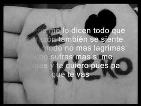 Te Quiero.. By duende