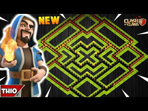 NEW TOWN HALL 10 FARMING/TROPHY BASE 2018! TH10 HYBRID DARK BASE WITH REPLAYS! - CLASH OF CLANS(COC)