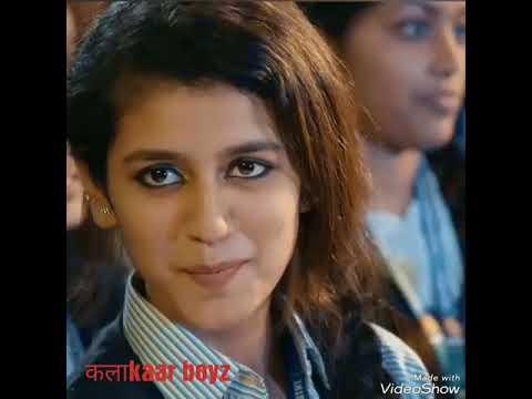 Priya Prakash Varrier|Marathi Version| Mala Aamdar Zalya Sarkh Vattay