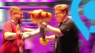 Gamescom 2018: Piet & Chris verkloppen sich!