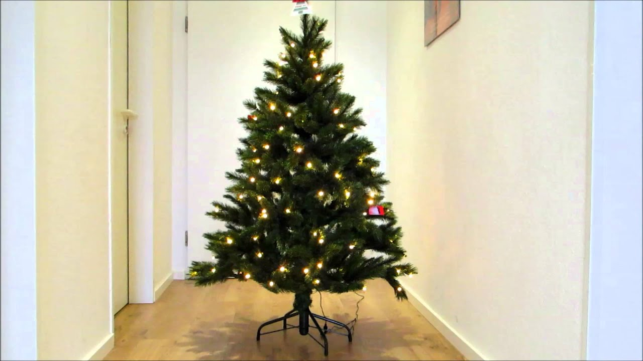 k nstlicher weihnachtsbaum bristlecone 1 55 mit led flashing youtube. Black Bedroom Furniture Sets. Home Design Ideas