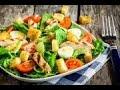 Салат цезарь и обед!