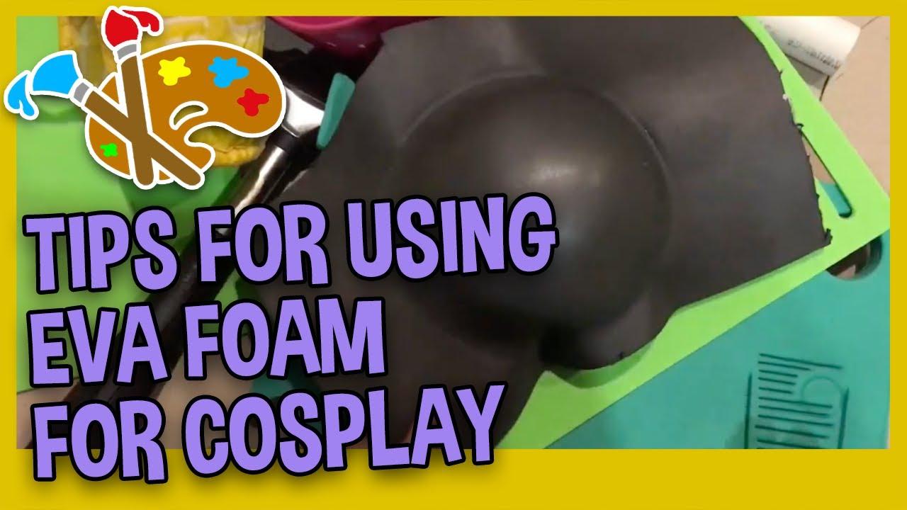 TIPS FOR USING EVA FOAM - EVA Foam Cosplay Prop Tips