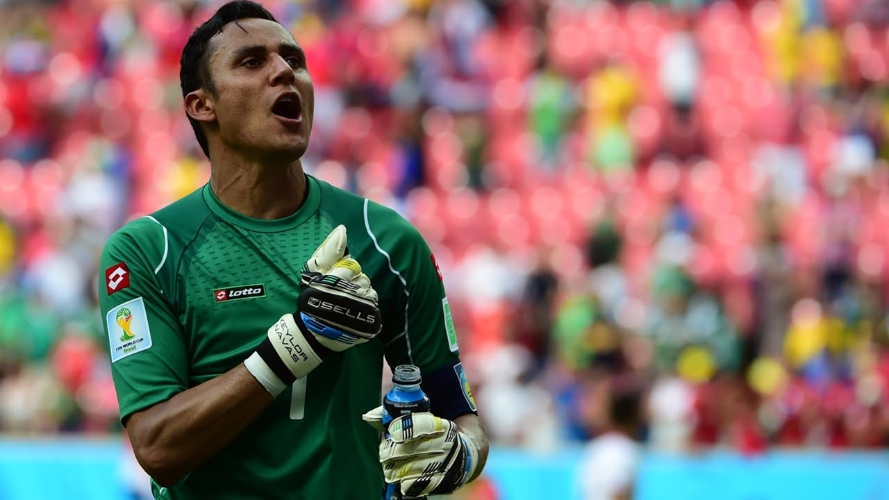 Keylor Navas Best Saves World Cup 2014 HD